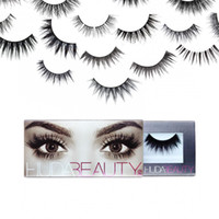 beauty lashes - HUDA Beauty Mink False Eyelashes with Types Messy Cross Thick Natural Makeup and DHL