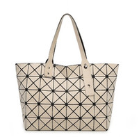 Wholesale Women Fashion BAOBAO Bag Geometry Matt Surface Folding bags handbags famous brands
