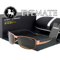 Wholesale men s riding sunglasses hot selling high quality polarized fashion newly EYEMATE E007