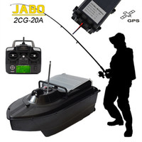Wholesale JABO CG A hrs Working Wireless RC Carp Bait Boat Fish Finder Night Sonar Detection GPS