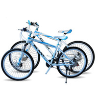Wholesale DLANT Mountain Bike For Men Inch Speed Double Damping Double Disc Brake Spokes Speed Bicycle Two kinds of styles