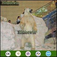 animatronic animals - by theme park dinosaur park playground museums Shopping Hall Decoration LifeLike Animal Animatronic Polar Bear