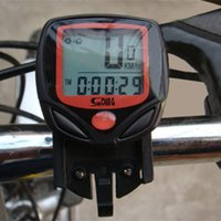 Wholesale Cycling Computer Leisure Functions Waterproof Odometer Speedometer With LCD Display Bike Speedometer Bicycle Cycling Computer
