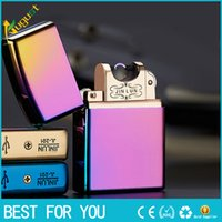 Wholesale Usb Lighter Rechargeble Electronic Lighter Smoking Windproof Lighters torch lighter usb lighter butane lighter Arc lighter