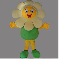 Wholesale lovely High quality sunflower mascot costume Carnival holiday party
