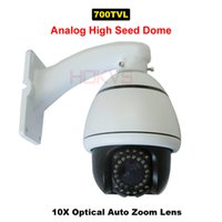 analogue camera - High Speed Dome PTZ Camera System CCTV Analogue with X Optical Zoom Sony TVL CCD Pan Tilt X Optical Zoom Lens