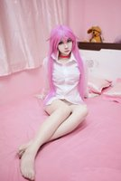 average size cat - gt gt K Cat Long Straight Pink Cosplay Fashion Synnthetic Lolita Party Full Wig Anime
