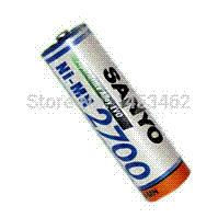 aa alkaline battery charger - Original Sanyo Ni MH AA mAh Rechargeable Battery Batteries battery charger and battery battery sprayer