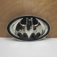 Buckles bat belt buckle - BuckleHome Metal bat belt buckle animal belt buckle with silver finish FP