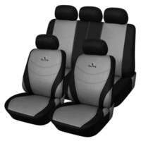 Wholesale AUTOYOUTH Polyester Fabric Car Seat Covers Set Universal Fit is Compatible with Most Vehicles Embroidery Design Seat Cover