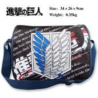 attack body - Japanese anime Attack on Titan Cartoon Messenger Bag School Bag Shoulder Crossbody Girl Daypack Handbag