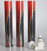 Wholesale Good quality duck feather badminton shuttlecock suitable for tournament