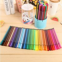 Wholesale 36 Colors Marker Set Highlighter Stationery Sketch Markers Washable Watercolor Pens for Kids Popular Art Supplies