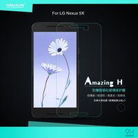 amazing curves - NILLKIN Amazing H Nanometer Anti Explosion mm Tempered Glass Screen Protector For LG Nexus X Tempered glass protective Film