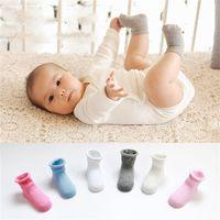 baby rolls - Baby Kids Cotton Socks Spring Autumn Rolling Edge Socks Years Old Girls Boys Socks Walking Children Socks Clothing Colors