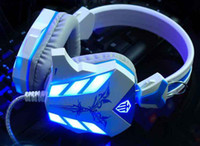 best headset gamer - Best PC Gamer casque Stereo Hifi Gaming Head Phones With Microphone Dazzle Lights Glow Game Music Headset fones