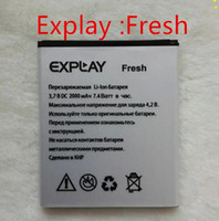 batterie mobile - Explay Fresh Battery mAh High Quality Mobile Phone Bateria Batterie Accumulator ACCU FEDEX fast delivery