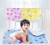Wholesale 2015 New Hot Sale S M L Waterproof Changing Pads Infant Mats Diaper Urinal Pads Newborn Baby Changing Pads BC08