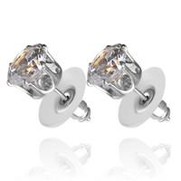 american sunflower - Earrings zircon Rhinestone Sunflower female models stud earrings Fashion Jewelry Gifts for women free zj