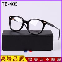 Wholesale HOT SALE TB405 glasses eyewear women men fashion Hyperopia myopia retro metal glasses frame eye glasses spectacles TB0405 High quality