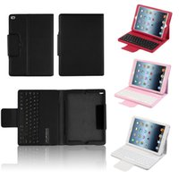 apple external keyboard - New Wireless Bluetooth Keyboard Protective Folio Flip Pu Leather Case Cover for Apple For iPad air air2