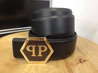 Wholesale 2016 designer belts men high quality mens belts luxury Big buckle men designer leather belt men Woman PHILIPP PLEIN Belt pp1