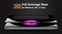 Wholesale For iPhone plus iPhone plus Real D Curved Tempered Glass Screen Protector Full Coverage With Retail Package