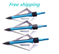 Wholesale 3pcs shooting broadheads with fixed blade arrow tips gr arrow points shoot basketball