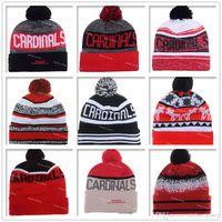 arizona beaches - Football Red Arizona Beanies Winter High Quality Cardinals Beanie For Men Women Skull Caps Skullies Knit Cotton Hats