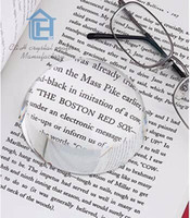 Wholesale Customized Logo mm Blank transparent Crystal hemisphere half ball magnifier glass paperweight for Wedding Decoration