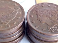 antique hair art - US Coins A set of BRAIDED HAIR LARGE CENTS copper Coins Promotion Cheap