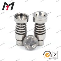 big clean - promotion mm mm Gr2 domeless titanium nail with big bowl male joint very polished and easy to clean