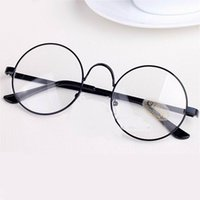 Wholesale Round Spectacle Frames Women Men Optical Frame Transparent Glasses For Harry Potter Lindberg Glasses Frames With Clear Glass