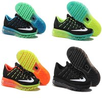 Cheap 2016 Max Men Running Shoes Sneaker AirCushion maxes casual Mens Original New Product Hot Sale Breathable Sports Shoes Outdoor T