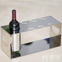 Wholesale The wine cup rack rack stainless steel wine goblet upside down creative kitchen bar decoration style lifting frame