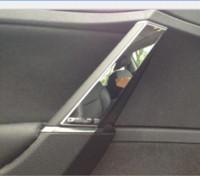 armrest golf - 2014 For VW Volkswagen Golf MK7 Inner Armrest Handle Cover Trim ABS Chrome