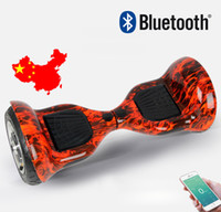 Wholesale Super Power Phone APP control Two Wheels Scooter Smart Balancing Wheel Balance Scooter Electric Two Wheels Hoverboard Bluetooth Music Player