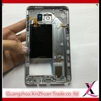 achat en gros de boîtiers cellule-Téléphone cellulaire Middle Gold Sliver Cadre Classis Mid Bezel Housings Pour Samsung Galaxy Note 5 N920