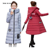 animal coat patterns - Hot New Slim Hooded Parks Women s Winter Coats Cotton Thickening Winter Jacket Women s Outerwear for Women Parks Winter