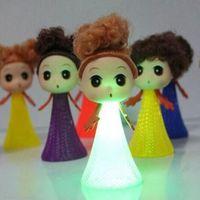 baby strange - Hot Sale Strange New Baby Toy With Light Large Bounce Head Elf Villain Eva Head Bouncing Elf Nylon Funny Toys Kids Favorite Gifts