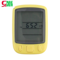 Wholesale SunDing SD B Waterproof LCD Display Cycling Bike Bicycle Computer Odometer Speedometer with Green Backlight