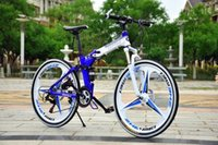 Wholesale Foldable road bike carbon frames Integrated wheel Inch Speed bicycle