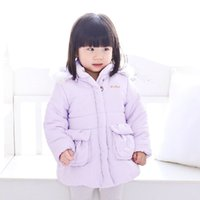 Wholesale 2016 New Winter Clothes Baby Girls Jacket kids Outerwear Coat Cotton Kids Clothes Children Clothing Hoodies