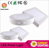 Wholesale Dimmable Surface Mounted Round Square celling Light W W W Led Downlight lighting Led ceiling downlight free shippiing