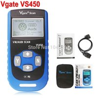 Wholesale Vgate VS450 For VAG OBDII OBD Code Reader Car Diagnostic Tool VS Reset Airbag ABS CAN Scanner