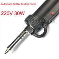 Wholesale Vacuum Desoldering Tool Solder Sucker desoldering pump Solder Sucker Gun solder remover W