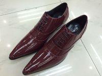 Cheap Burgundy Dress Shoes Men | Free Shipping Burgundy Dress ...