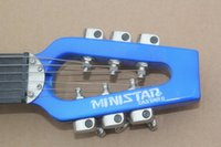 Wholesale Brand new ministar CASTARII travel portable electric guitars Silent guitars can plug headphones with rocker