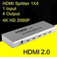 adapter distributor - 4K x K HDMI Splitter x4 HDMI distributor adapter in out wiht rs232 function