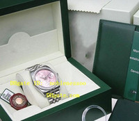 Wholesale Wristwatch Luxury Original Box Watch Men s Midsize mm SS K WG PINK FLOWER ARA Watches Automatic Watch Box Papers